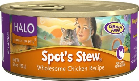 halo cat food
