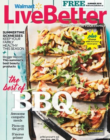 walmart live better magazine summer 2016