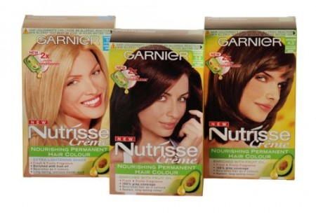 Garnier Nutrisse Creme contest