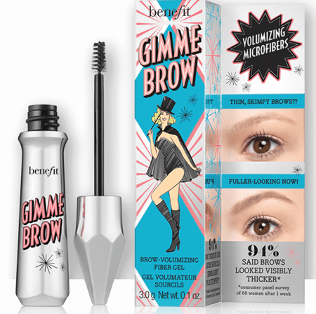 benefit cosmetics brow fiber gel