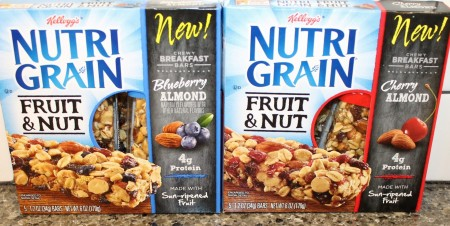 nutrigrain fruit and nut