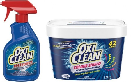 oxiclean product testing