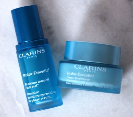 clarins sample