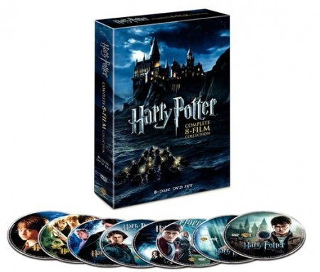 harry potter 8 film collection