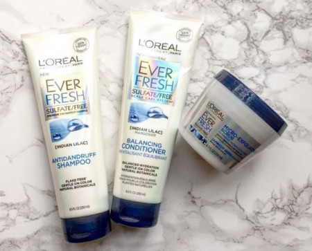 loreal ever fresh samples