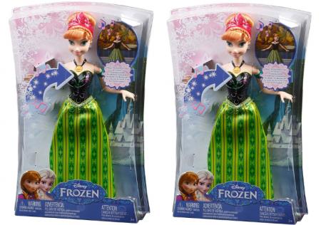 frozen singing anna doll