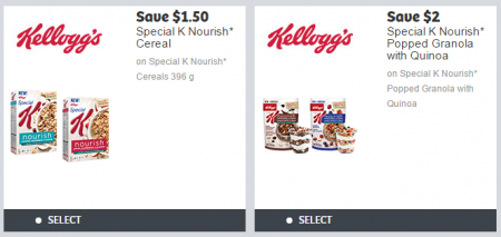 kellogg's special K coupons