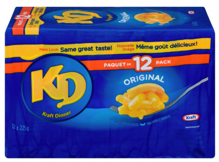 kraft dinner coupon