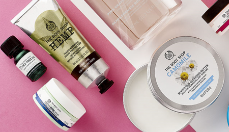 the body shop travel essentials