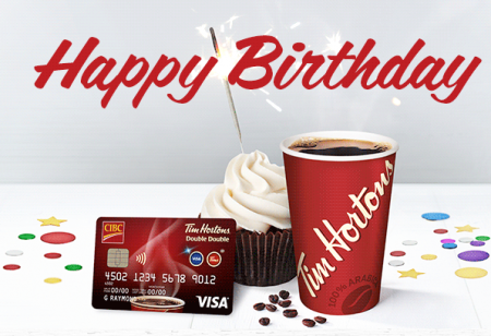 tim hortons birthday coffee