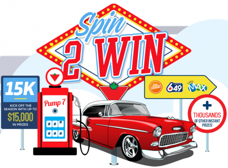 canadian trie spin to win contest