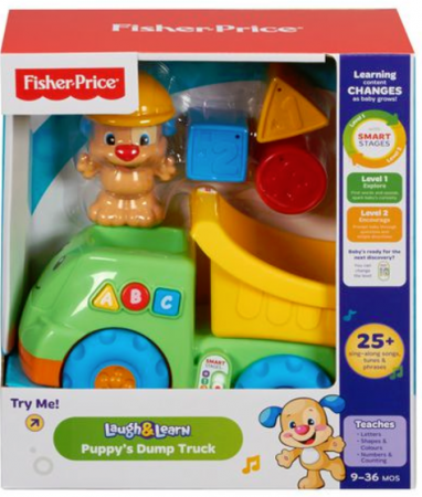 fisher price puppy dump truck