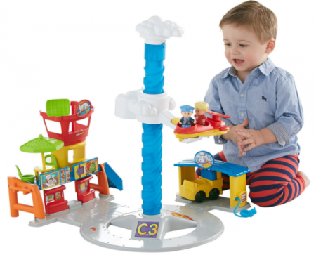 fisher price spinning sounds airport
