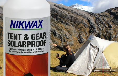nikwax tent and gear