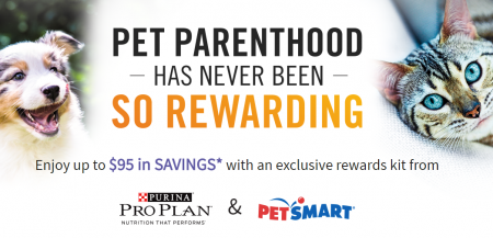 purina petsmart rewards kit