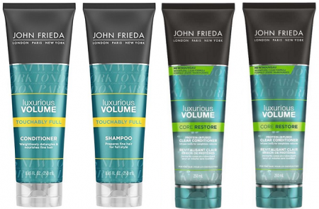john frieda luxurious volume sample