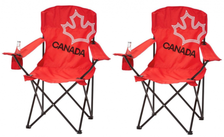 canada camping chair