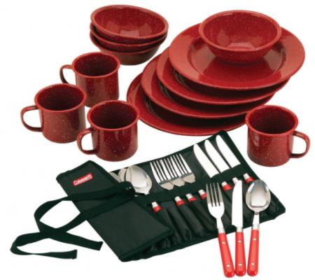 coleman dinnerware set