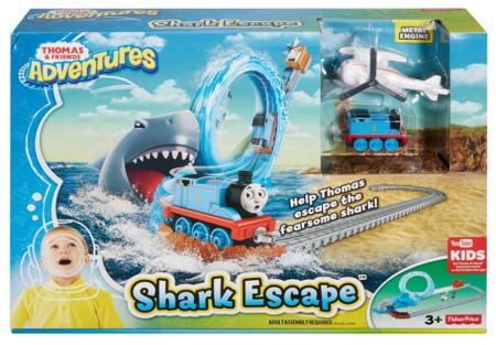 fisher price thomas the train shark escape