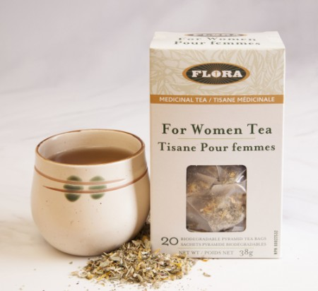 flora tea for women