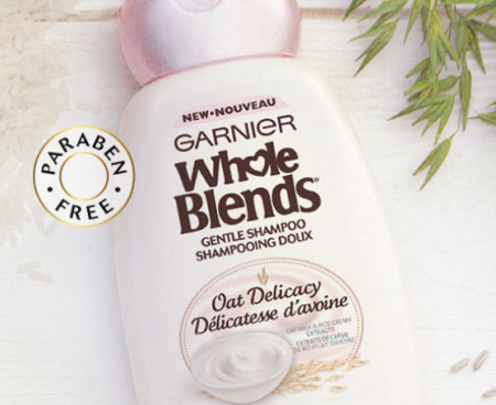 Hurry! Free sample of garnier whole blends oat delicacy! Deal.