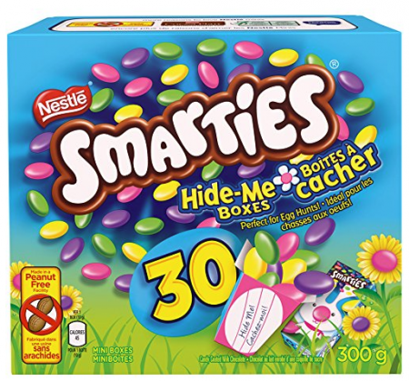 Hurry 648 smarties nestl easter minis pack of 30 free hop on over to amazon canada for some easter candy score nestle smarties 30 pack for 648 perfect for gift baskets easter gifts and egg hunts negle Choice Image